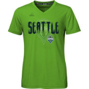 adidas Youth Girls' Seattle Sounders climalite T-Shirt