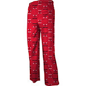 adidas Youth Chicago Bulls Red Logo Printed Pajama Pants
