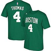 adidas Youth Boston Celtics Isaiah Thomas #4 Kelly Green Performance T-Shirt