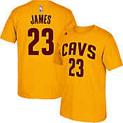 adidas Youth Cleveland Cavaliers LeBron James #23 Gold T-Shirt