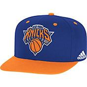 adidas Youth New York Knicks On-Court Adjustable Snapback Hat