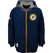 adidas Youth Indiana Pacers Pre-Game Navy Hoodie