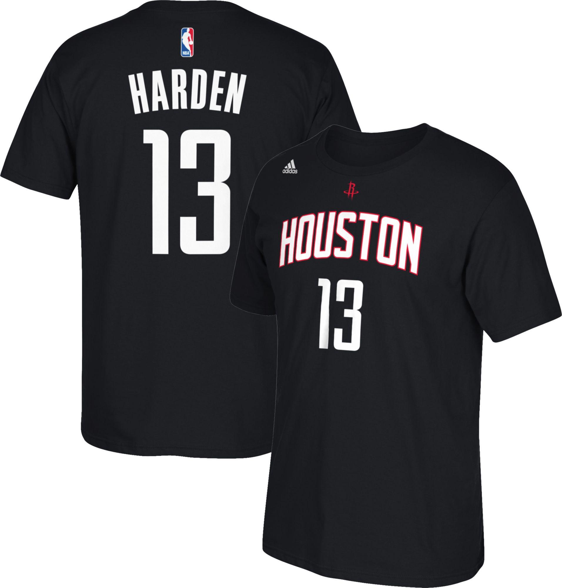 Youth black t shirt - Product Image Adidas Youth Houston Rockets James Harden 13 Black T Shirt