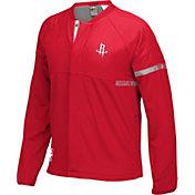adidas Youth Houston Rockets On-Court Red Jacket