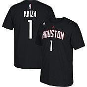 adidas Youth Houston Rockets Trevor Ariza #1 Black T-Shirt