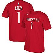adidas Youth Houston Rockets Trevor Ariza #1 Red T-Shirt