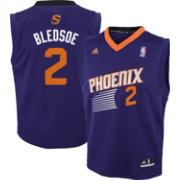 adidas Youth Phoenix Suns Eric Bledsoe #2 Road Purple Replica Jersey