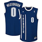 adidas Youth Oklahoma City Thunder Russell Westbrook #0 Alternate Navy Replica Jersey
