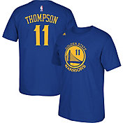 adidas Youth Golden State Warriors Klay Thompson #11 Royal Performance T-Shirt