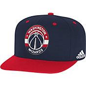 adidas Youth Washington Wizards On-Court Adjustable Snapback Hat