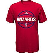adidas Youth Washington Wizards climalite Red T-Shirt
