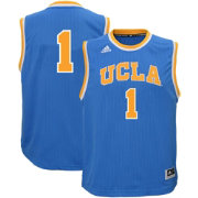 adidas Youth UCLA Bruins #1 True Blue Replica Basketball Jersey