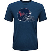 Gen2 Youth Ole Miss Rebels Blue Helmet T-Shirt
