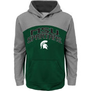 Gen2 Youth Michigan State Spartans Green/Grey Arc Hoodie