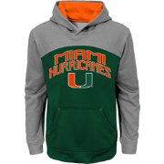 Gen2 Youth Miami Hurricanes Green/Grey Arc Hoodie