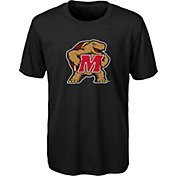 Gen2 Youth Maryland Terrapins Performance Black T-Shirt