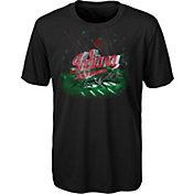 adidas Youth Indiana Hoosiers High Impact Black T-Shirt
