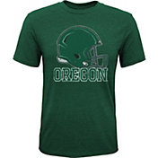 Gen2 Youth Oregon Ducks Green Helmet T-Shirt