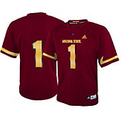 adidas Youth Arizona State Sun Devils White #1 Replica Jersey