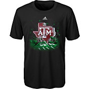 adidas Youth Texas A&M Aggies High Impact Black T-Shirt