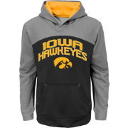 Gen2 Youth Iowa Hawkeyes Black/Grey Arc Hoodie