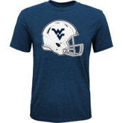 Gen2 Youth West Virginia Mountaineers Blue Helmet T-Shirt