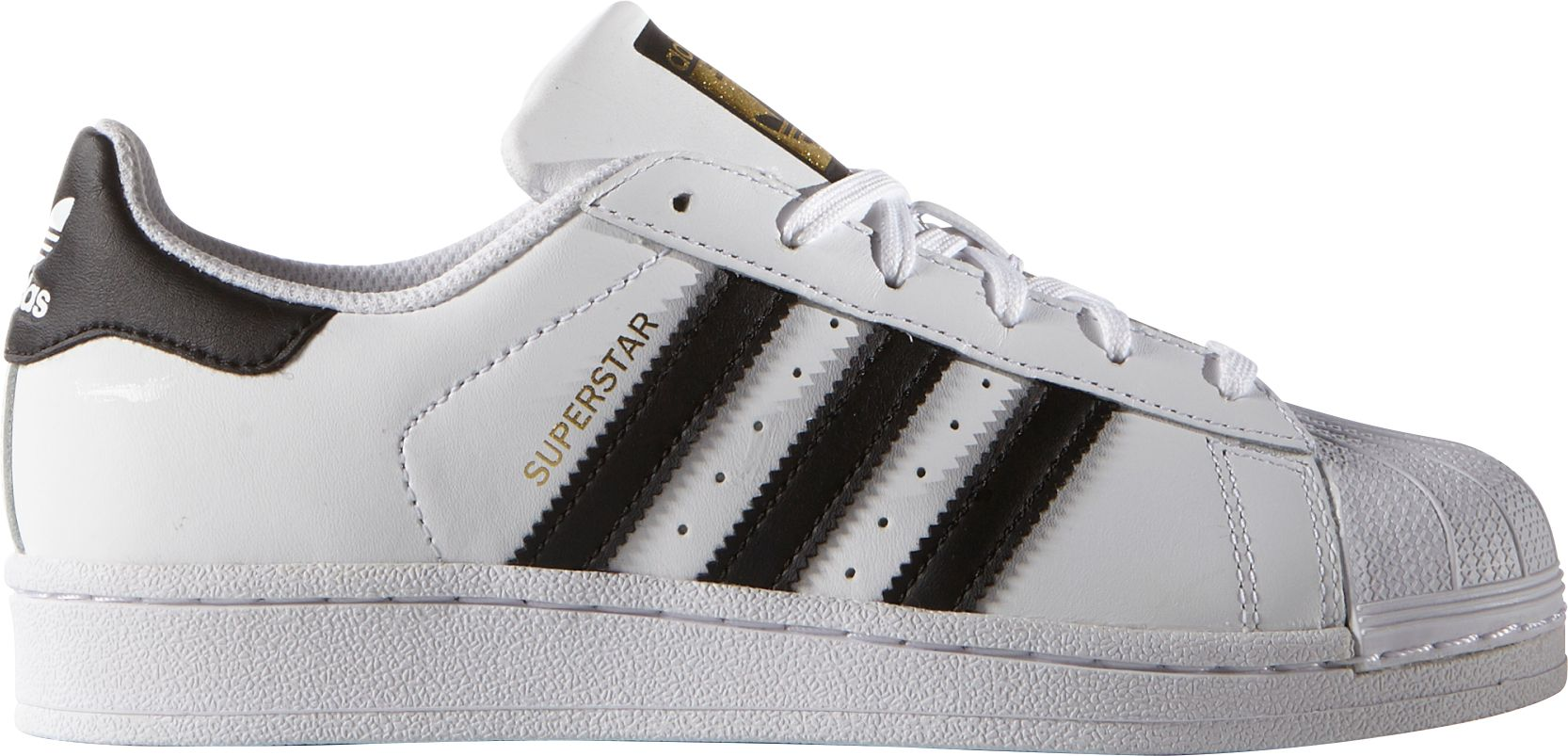 Cheap Adidas Superstar Men's Basketball Shoe Core Black / Gold Metallic