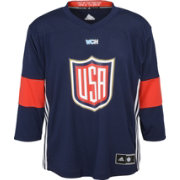 adidas Youth World Cup of Hockey 2016 USA Home Replica Jersey