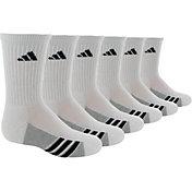 adidas Kids' Athletic Crew Socks 6 Pack