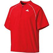adidas Boys' Triple Stripe Pullover Jacket