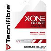 Tecnifibre X-One Biphase 18 Squash String – 9.7M Set
