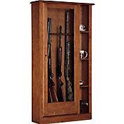 American Furniture Classics 10 Gun Curio Cabinet Combo