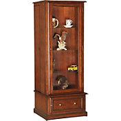 American Furniture Classics Curio / 10 Gun Cabinet Combo