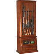 American Furniture Classics 12 Gun Slanted Base Cabinet
