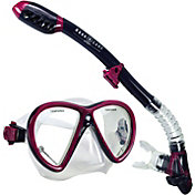 Aqua Lung Sport Women's Jewel LX Mask and Coronado Snorkel Combo