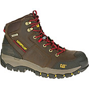 CAT Men's Navigator Mid Waterproof Steel Toe EH Work Boots