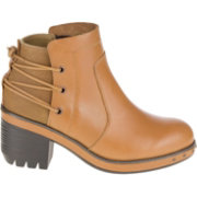CAT Women's Olive Casual Boots