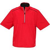 Greg Norman Men's Quarter-Zip Weatherknit Golf Top