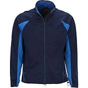 Greg Norman Men's Pieced Weatherknit Full-Zip Golf Jacket
