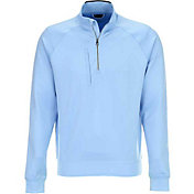 Greg Norman Men's Fashion Quarter-Zip Golf Pullover