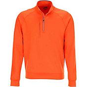 Greg Norman Men's Fashion Quarter-Zip Golf Pullover