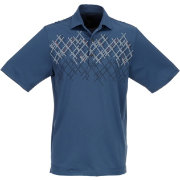 Greg Norman Men's Screen Print Golf Polo