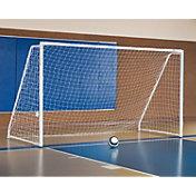 Alumagoal 6.5' x 12' Portable, Foldable Indoor Soccer Goal