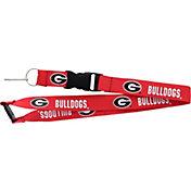 Georgia Bulldogs Red Lanyard