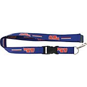 Ole Miss Rebels Blue Lanyard