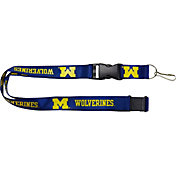 Michigan Wolverines Blue Lanyard