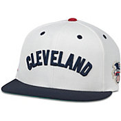 American Needle Men's Cleveland Indians White United Hat