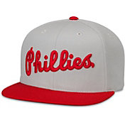 American Needle Men's Philadelphia Phillies Grey Scripteez Hat