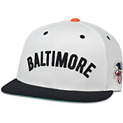 American Needle Men's Baltimore Orioles White United Hat