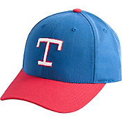American Needle Men's Texas Rangers Red/Royal Wool Dome Hat